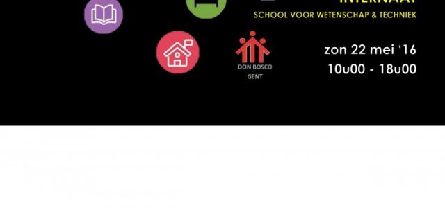 Op zondag 22 mei opent het INTERNAAT en de SCHOOL VOOR WETENSCHAP& TECHNIEK van DON BOSCO GENT in Sint-Denijs-Westrem haar deuren tussen 10u00 en 18u00  Op het internaat ben […]